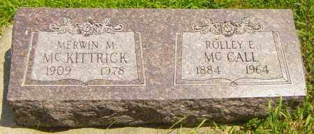 MCKITTRICK, MERWIN M - Lincoln County, South Dakota | MERWIN M MCKITTRICK - South Dakota Gravestone Photos