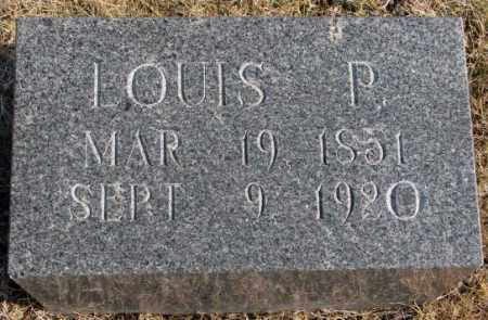 MEINZER, LOUIS P. - Lincoln County, South Dakota | LOUIS P. MEINZER - South Dakota Gravestone Photos