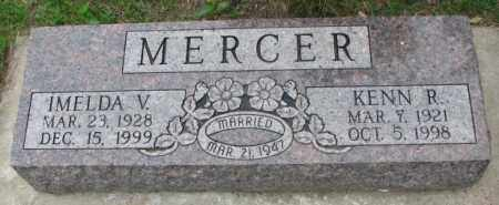 MERCER, IMELDA V. - Lincoln County, South Dakota | IMELDA V. MERCER - South Dakota Gravestone Photos