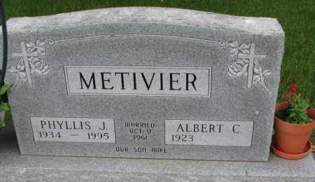 METIVIER, ALBERT C. - Lincoln County, South Dakota | ALBERT C. METIVIER - South Dakota Gravestone Photos