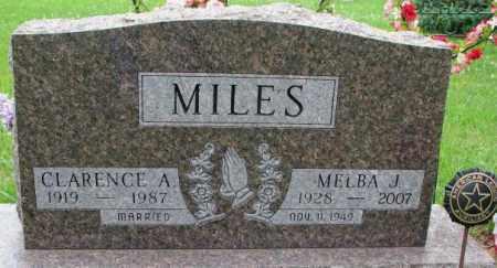 MILES, MELBA J. - Lincoln County, South Dakota | MELBA J. MILES - South Dakota Gravestone Photos