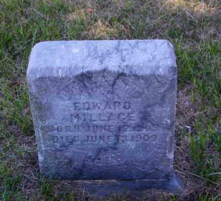 MILLAGE, EDWARD - Lincoln County, South Dakota | EDWARD MILLAGE - South Dakota Gravestone Photos