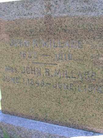MILLAGE, SARAH - Lincoln County, South Dakota | SARAH MILLAGE - South Dakota Gravestone Photos