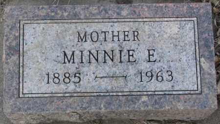 MILLAGE, MINNIE E. - Lincoln County, South Dakota   MINNIE E. MILLAGE - South Dakota Gravestone Photos