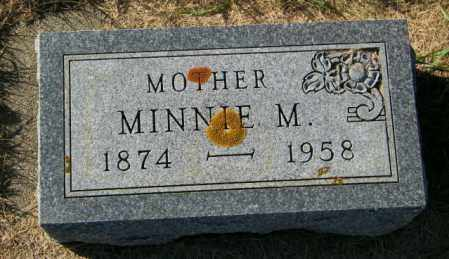MILLAGE, MINNIE M. - Lincoln County, South Dakota   MINNIE M. MILLAGE - South Dakota Gravestone Photos