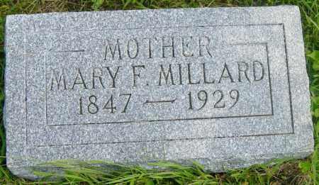 MILLARD, MARY F - Lincoln County, South Dakota   MARY F MILLARD - South Dakota Gravestone Photos