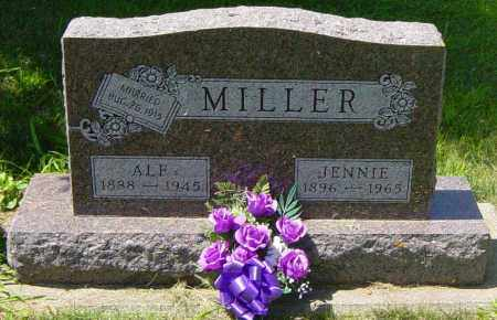 MILLER, JENNIE - Lincoln County, South Dakota | JENNIE MILLER - South Dakota Gravestone Photos