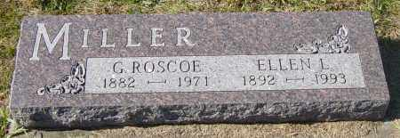 MILLER, ELLEN L - Lincoln County, South Dakota | ELLEN L MILLER - South Dakota Gravestone Photos