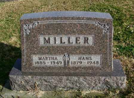 MILLER, HANS - Lincoln County, South Dakota | HANS MILLER - South Dakota Gravestone Photos