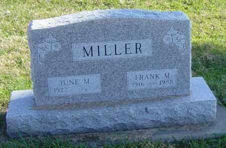 MILLER, JUNE M - Lincoln County, South Dakota | JUNE M MILLER - South Dakota Gravestone Photos