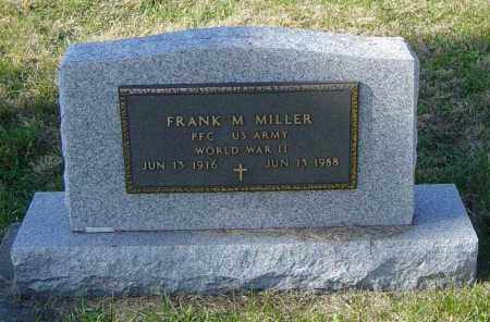 MILLER MILITARY, FRANK M - Lincoln County, South Dakota | FRANK M MILLER MILITARY - South Dakota Gravestone Photos