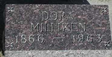 MILLIKEN, DORA - Lincoln County, South Dakota   DORA MILLIKEN - South Dakota Gravestone Photos