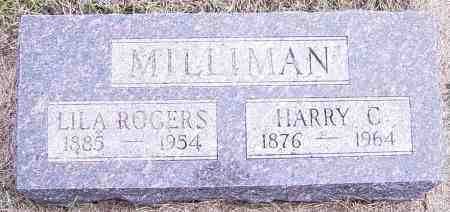ROGERS MILLIMAN, LILA - Lincoln County, South Dakota | LILA ROGERS MILLIMAN - South Dakota Gravestone Photos