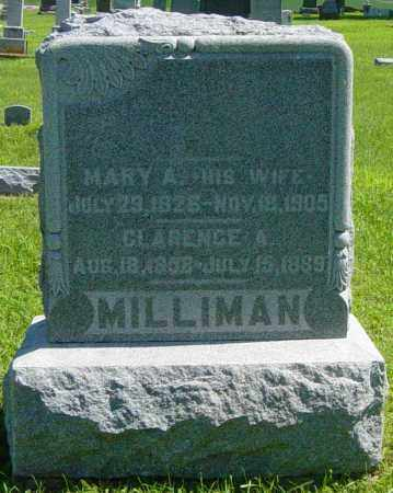 MILLIMAN, MARY A - Lincoln County, South Dakota | MARY A MILLIMAN - South Dakota Gravestone Photos