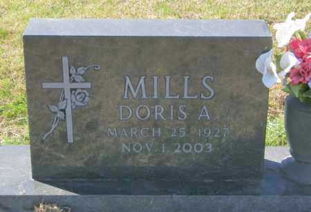 MILLS, DORIS A. - Lincoln County, South Dakota | DORIS A. MILLS - South Dakota Gravestone Photos
