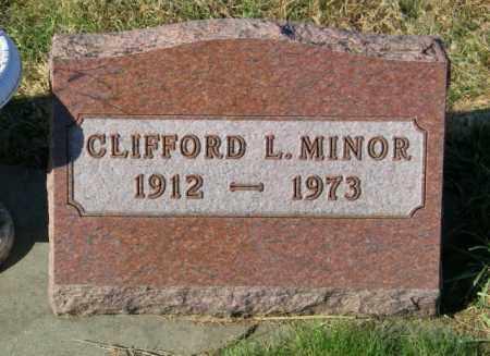 MINOR, CLIFFORD L. - Lincoln County, South Dakota | CLIFFORD L. MINOR - South Dakota Gravestone Photos