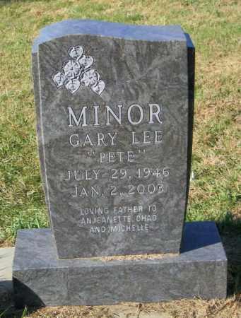 MINOR, GARY LEE - Lincoln County, South Dakota | GARY LEE MINOR - South Dakota Gravestone Photos