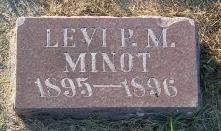 MINOT, LEVI P.M. - Lincoln County, South Dakota | LEVI P.M. MINOT - South Dakota Gravestone Photos