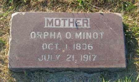 MINOT, ORPHA O. - Lincoln County, South Dakota   ORPHA O. MINOT - South Dakota Gravestone Photos