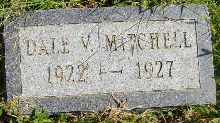 MITCHELL, DALE V - Lincoln County, South Dakota   DALE V MITCHELL - South Dakota Gravestone Photos