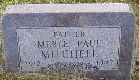 MITCHELL, MERLE PAUL - Lincoln County, South Dakota | MERLE PAUL MITCHELL - South Dakota Gravestone Photos