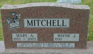 MITCHELL, WAYNE J. - Lincoln County, South Dakota | WAYNE J. MITCHELL - South Dakota Gravestone Photos
