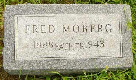 MOBERG, FRED - Lincoln County, South Dakota | FRED MOBERG - South Dakota Gravestone Photos