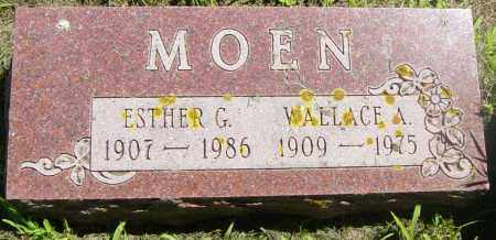 MOEN, ESTHER G - Lincoln County, South Dakota | ESTHER G MOEN - South Dakota Gravestone Photos