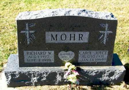 MOHR, CAROL JOYCE - Lincoln County, South Dakota   CAROL JOYCE MOHR - South Dakota Gravestone Photos