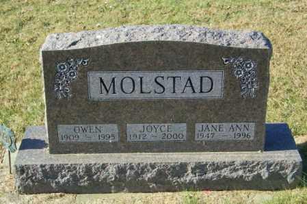 MOLSTAD, JOYCE - Lincoln County, South Dakota | JOYCE MOLSTAD - South Dakota Gravestone Photos