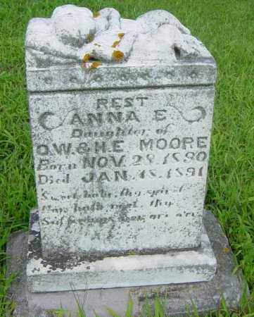 MOORE, ANNA E - Lincoln County, South Dakota | ANNA E MOORE - South Dakota Gravestone Photos