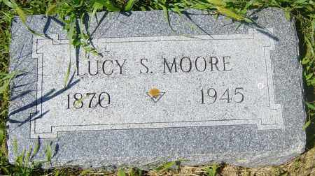 MOORE, LUCY S - Lincoln County, South Dakota | LUCY S MOORE - South Dakota Gravestone Photos