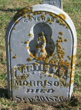 MORRISON, MARTIN V.B. - Lincoln County, South Dakota   MARTIN V.B. MORRISON - South Dakota Gravestone Photos
