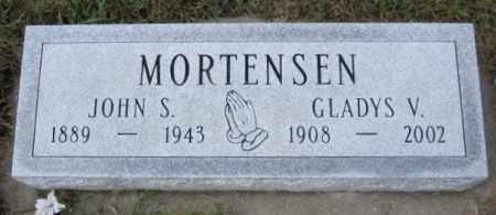 MORTENSEN, JOHN S. - Lincoln County, South Dakota | JOHN S. MORTENSEN - South Dakota Gravestone Photos