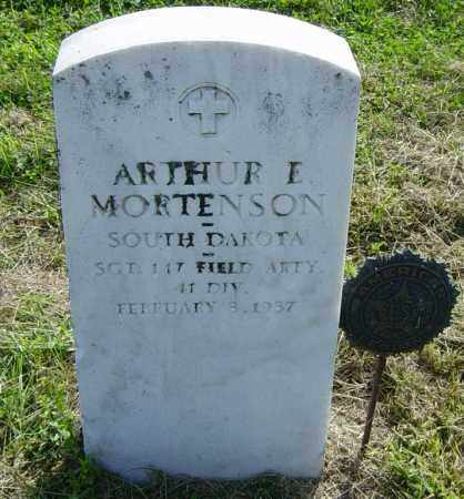 MORTENSON, ARTHUR E - Lincoln County, South Dakota | ARTHUR E MORTENSON - South Dakota Gravestone Photos