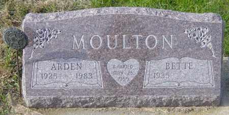 MOULTON, BETTE - Lincoln County, South Dakota | BETTE MOULTON - South Dakota Gravestone Photos