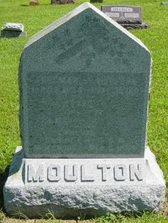 MOULTON, CARRIE B - Lincoln County, South Dakota | CARRIE B MOULTON - South Dakota Gravestone Photos