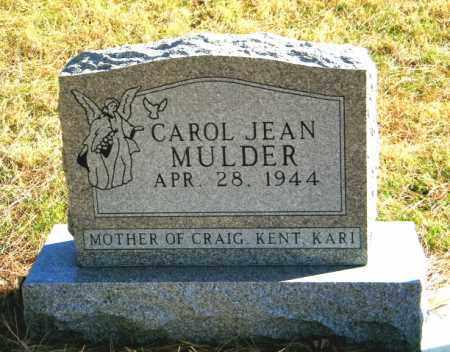 MULDER, CAROL JEAN - Lincoln County, South Dakota | CAROL JEAN MULDER - South Dakota Gravestone Photos