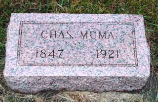 MUMA, CHARLES - Lincoln County, South Dakota   CHARLES MUMA - South Dakota Gravestone Photos