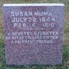 MUMA, SUSAN - Lincoln County, South Dakota | SUSAN MUMA - South Dakota Gravestone Photos