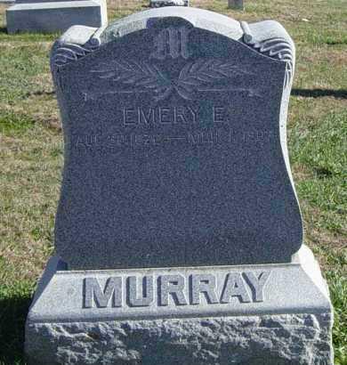 MURRAY, EMERY E - Lincoln County, South Dakota   EMERY E MURRAY - South Dakota Gravestone Photos