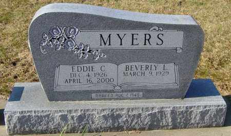 MYERS, EDDIE C - Lincoln County, South Dakota | EDDIE C MYERS - South Dakota Gravestone Photos