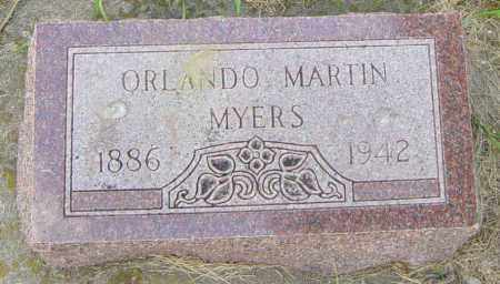 MYERS, ORLANDO MARTIN - Lincoln County, South Dakota   ORLANDO MARTIN MYERS - South Dakota Gravestone Photos