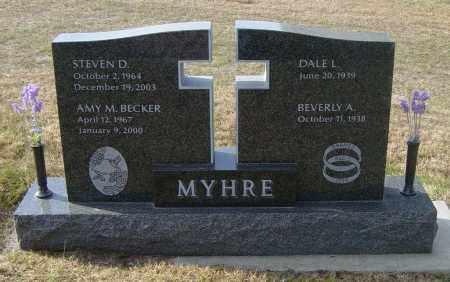 MYHRE, STEVEN D - Lincoln County, South Dakota | STEVEN D MYHRE - South Dakota Gravestone Photos