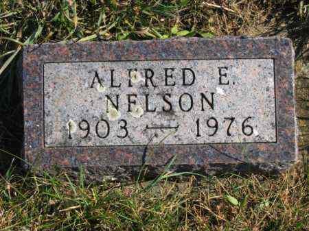 NELSON, ALFRED E - Lincoln County, South Dakota   ALFRED E NELSON - South Dakota Gravestone Photos