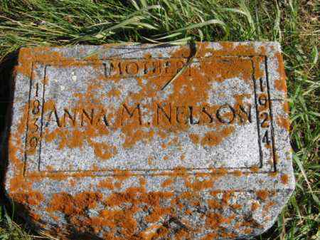 NELSON, ANNA MARIE - Lincoln County, South Dakota | ANNA MARIE NELSON - South Dakota Gravestone Photos