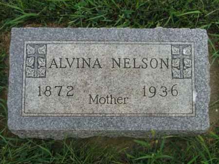 NELSON, ALVINA - Lincoln County, South Dakota | ALVINA NELSON - South Dakota Gravestone Photos