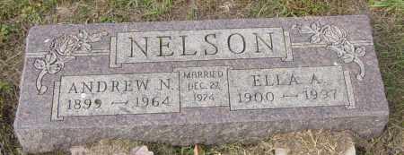NELSON, ANDREW N - Lincoln County, South Dakota | ANDREW N NELSON - South Dakota Gravestone Photos