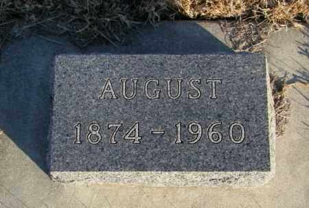 NELSON, AUGUST - Lincoln County, South Dakota | AUGUST NELSON - South Dakota Gravestone Photos