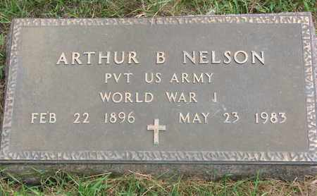 NELSON, ARTHUR B. (MILITARY) - Lincoln County, South Dakota | ARTHUR B. (MILITARY) NELSON - South Dakota Gravestone Photos
